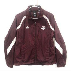Adidas Texas A & M Jacket